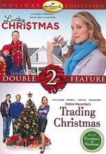 LUCKY CHRISTMAS + TRADING CHRISTMAS New DVD Hallmark Channel Holiday Collection