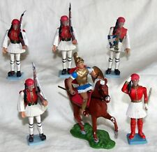 athena aohna plastic toy soldiers evzones and mounted ancient greek