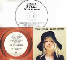 BASIA BULAT Oh, My Darling 2007 UK 12-track promo CD Rough Trade