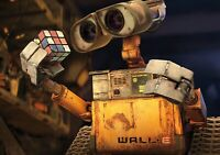 WALL-E Movie PHOTO Print POSTER Textless Film Art Andrew Stanton Animation 003