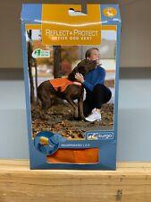 Kurgo Reflect & Protect Active Dog Vest Bright Orange, Size: Small/Petite, New