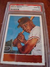 2001 Topps Gallery Giants Willie Mays Hobby Version Card # 50 PSA Gem MT 10