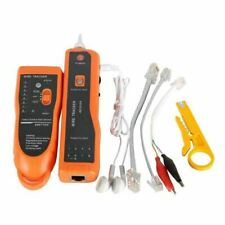 Telephone Wire Tracker Tracer Toner Ethernet Lan Network Cable Tester Detector L