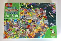 Map of Boston Puzzle 48 Piece Kids Jigsaw Puzzle