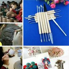 11pcs Pottery Clay Sculpture Carving Modelling Ceramic Hobby Tools Set DIY Art