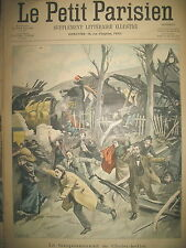 CHOISY LE ROI TRAIN CAMBRIOLEUR LEGITIME DEFENSE JOURNAL LE PETIT PARISIEN 1900