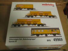 "Marklin H0 49969 DB ""Track Laying Group"" Freight Car Set - Era VI"