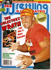 PRO WRESTLING ILLUSTRATED MAGAZINE Sept 1990 Hulk Hogan on cover