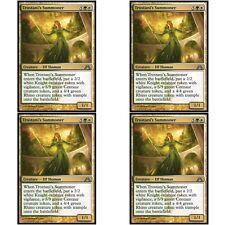 4 x TROSTANI'S SUMMONER NM mtg Dragon's Maze Gold - Elf Shaman Unc