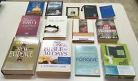 Religious Books Lot Of 13 In Nice Pre Owned Shape Forgive Testament Bible Study