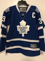 NHL Reebok Toronto Maple Leafs Phaneuf Youth Size S/M Hockey Jersey Pre-Owned