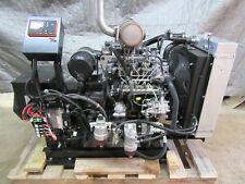 New 35 Kw Generator Isuzu Diesel 4le2x Tier 4 Final 277480 Volt Re Connectable