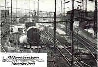 Karl-Marx-Stadt Chemnitz DDR Sonderkarte 125 Jahre Eisenbahn Gleisbremsanlage