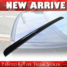 Painted K-Type 05-12 FOR Lexus IS250 IS220D IS350 Boot/Trunk Lip Spoiler