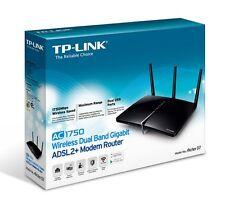 TP-Link Archer D7 AC1750 Wireless DualBand ADSL2+ Modem Router Gigabit LAN USB
