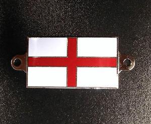 Enamel badge - plaque with St. George v1 (screw on) 50x29x2