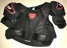 Ccm Boys Large Shoulder Pads Ice Hockey Rbz Adjustable black Great Cond! Clean!