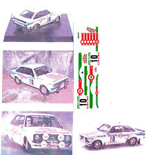 Decals 1/43e Ford Escort RS 1800 Mk2 Carlos Torres Portugal 1982 Trofeu