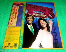 MADE IN JAPAN:CARPENTERS - Live At The Palladium LP,+ OBI STRIP,Lyric Sheet,RARE