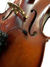 """FLEXIBLE MICRO GOOSENECK PICKUP for BAROQUE CELLO """"THE FEATHER"""" by Myers Pickups"""