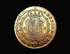 Pièce OR. Espagne, Charles IV. 4 Escudos 1792. Madrid, España, Carlos IV. Oro