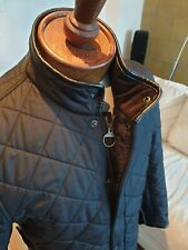 Barbour International Mens Powell Quilted Jacket in Black - Large *RRP. £169.99*