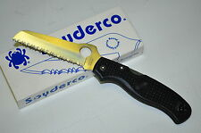 SPYDERCO C14SBK Black Rescue folding knife  Made in Japan SEKI CITY