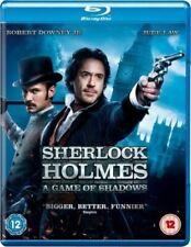 Sherlock Holmes a Game of Shadows 5051892093880 With Jude Law Blu-ray Region B