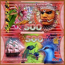 Netherlands East Indies (Indonesia), 500 Gulden, 2016 Polymer, UNC > Man