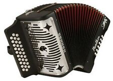 NEW Hohner 3100GB Panther Accordion KEY GCF Sol 31 Button Acordeón Diatónico