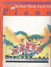 Alfred's Basic Piano Technic Book Level 1A C Position Grand Staff Jingle Bells