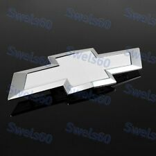 Bowtie For 2014-2018 Chevy Chevrolet Impala Rear Trunk Tailgate Emblem White