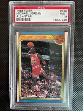 1988 Fleer Michael Jordan All-Star PSA 9  #120