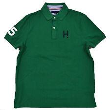 Tommy Hilfiger Shirt Mens Polo Custom Fit H Logo Mesh Knit Short Sleeve New Nwt