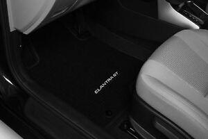 OEM 2013-2017 Hyundai Elantra GT 4PC BLACK CARPET FLOOR MATS (A5F14-AC100)
