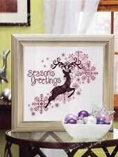 Cross Stitch Pattern~Majestic Reindeer~Season's Greetings~Cs11