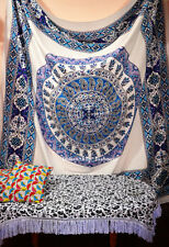 New Indian mandala Wall Hanging Queen Tapestry Bedspread Hippie Bohemian Throw