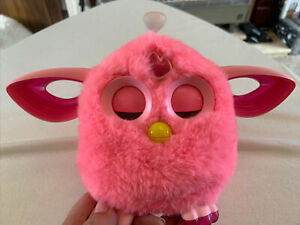 Furby Connect Pink Electronic Talking Pet Toy 2016 No Sleep Mask working