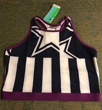 New Adidas Stellasport Crop Bra BuiltIn Sport Bra Size L RRP$50 Stella McCartney