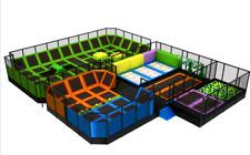 9,000 sqft Turnkey Trampoline Park Dodgeball Rock Wall Ninja Gym We Finance