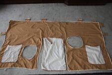 Paidi Torwand-Set 155 Hauptteil 2 Taschen beige-braun 3-teilig