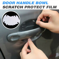 4x Car Door Handle Invisible Scratch Protective Film Sticker Clear Waterproof
