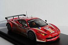 FERRARI 458 ITALIA GT2 #58 24 HEURES DU MANS 2012 LUXURY RACING JEANNETTE EHRET