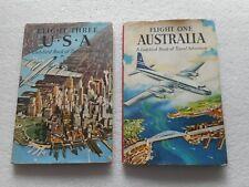 Ladybird Book of Travel and Adventure Flight one Australia & Three USA 1959