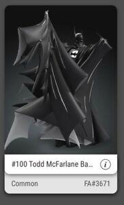 #100 Todd McFarlane BATMAN VEVE NFT First Appearance #3671 digital art