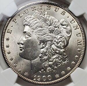 1 Dollar 1900 MORGAN Philadelphia Federal Republic United States MS64 / NGC !!