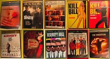 10 Dvd Lot American Beauty Kill Bill Vol. 1 & 2 Reservoir Dogs The Wrestler More