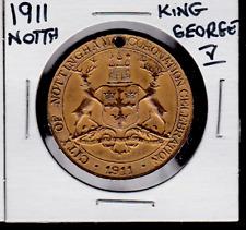 1911 Nottingham King George V Coronation Medal