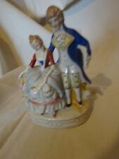 Moriyama Porcelain Figurine Victorian Couple marked Occupied Japan figure