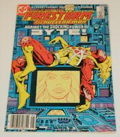 FURY OF FIRESTORM #23 DC 1984  1st Felicity Smoak Arrow VFNM 9.0 to NM- 9.2